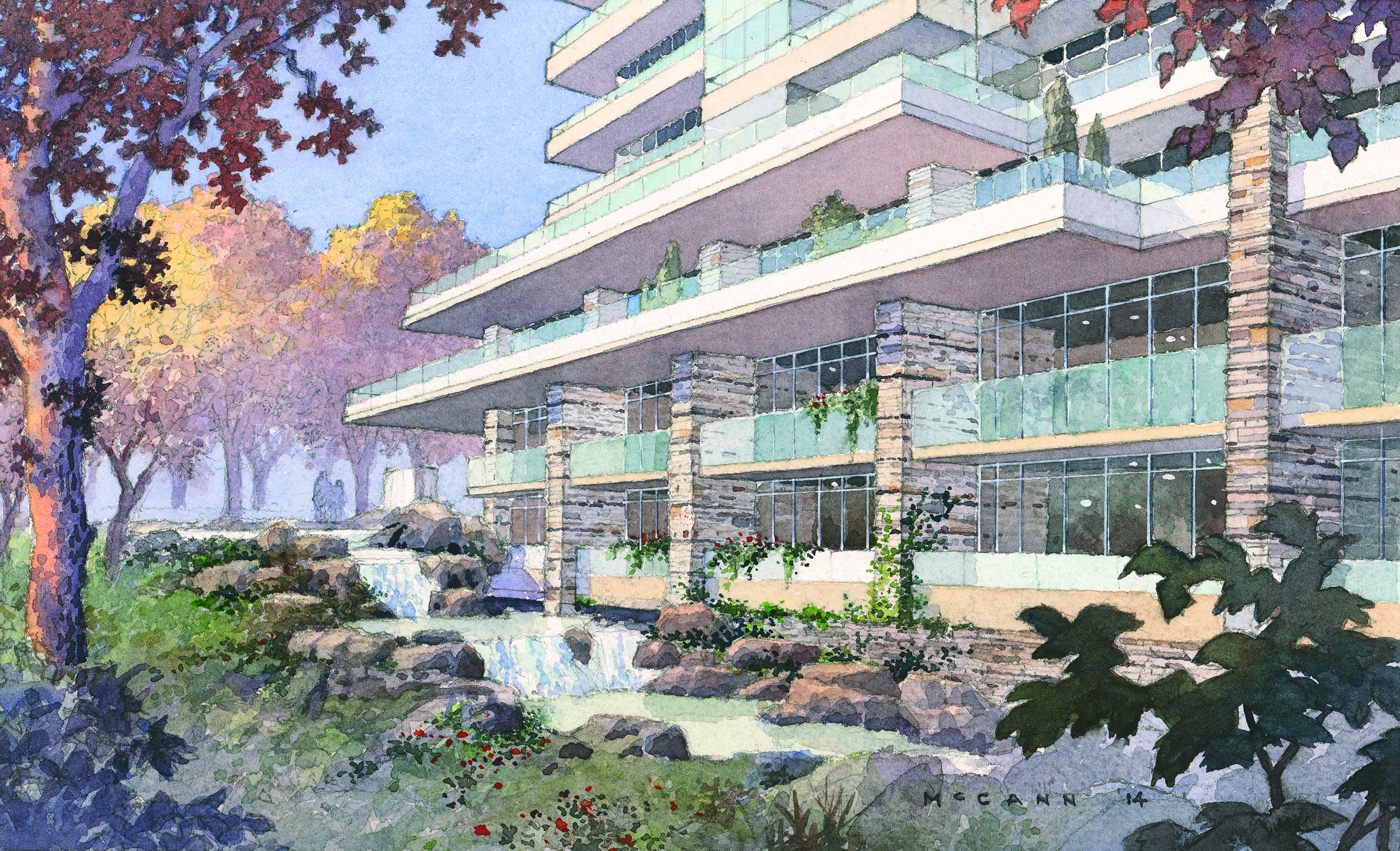 exterior-waterfall-building